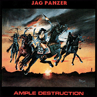 JAG PANZER-Cover: »Ample Destruction« [AZRA]