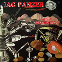 JAG PANZER-Cover: »Ample Destruction« [BANZAI]