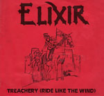 ELIXIR - »Treachery (Ride Like The Wind)«-Cover