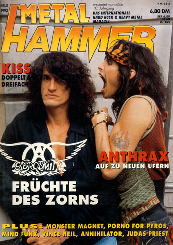 METAL HAMMER 05/93-Cover