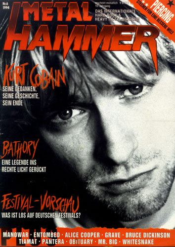 METAL HAMMER 06/94-Cover